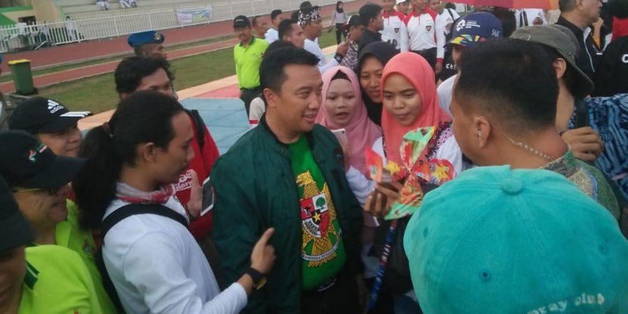 Menpora Apresiasi Terpeliharanya Lapangan Bisbol Rawamangun Setelah Asian Games 2018