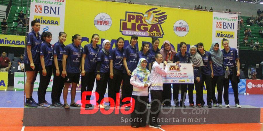 Gagal Juara Proliga 2018, Bandung Bank BJB Pakuan Malah Bersyukur