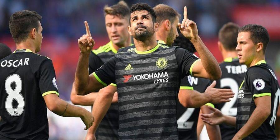 Dua Gol Diego Costa Selamatkan Wajah Chelsea di Stadion Liberty