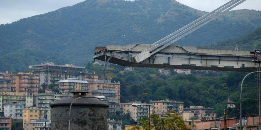 Italia dan Ukraina Kompak Tanggapi Insiden Jembatan Ambruk di Genoa