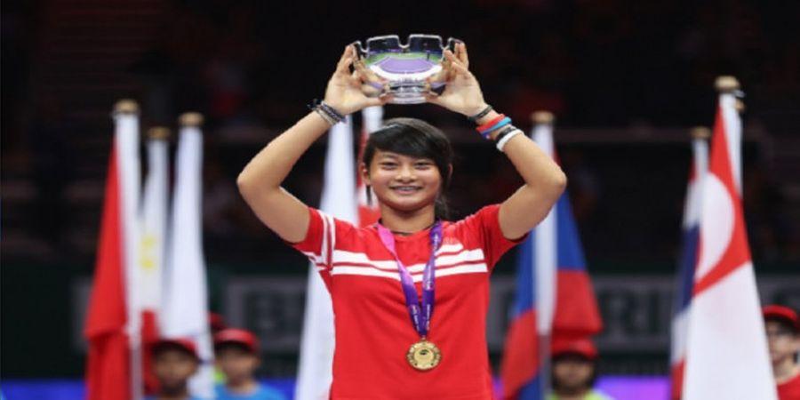 Petenis Indonesia ini Sukses Lewati Putaran Kedua Sarawak Chief Minister Cup