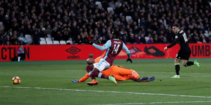 Hazard Curhat soal Kesulitan Bermain dengan Formasi Mourinho