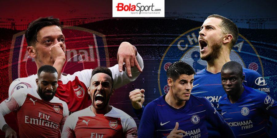 Jadwal Live TV 20 Januari 2019, Arsenal Vs Chelsea Disiarkan RCTI