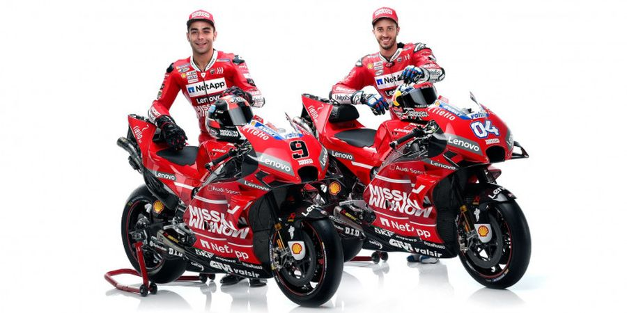 Nuansa Ferrari di Tim Ducati pada MotoGP 2019