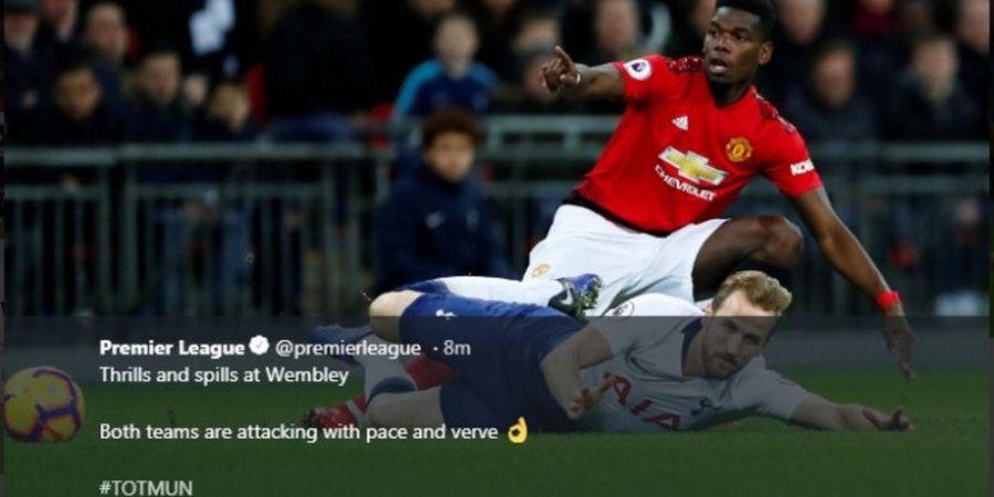 Kerjasama Paul Pogba-Marcus Rashford Bikin Tottenham Hotspur Tertinggal