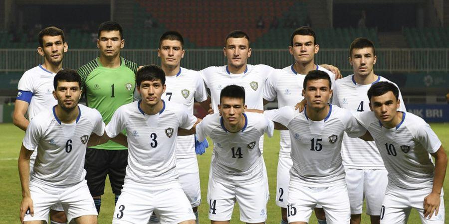 Timnas U-23 Uzbekistan Tempatkan Satu Kaki di Perempat Final Sepak Bola Asian Games 2018