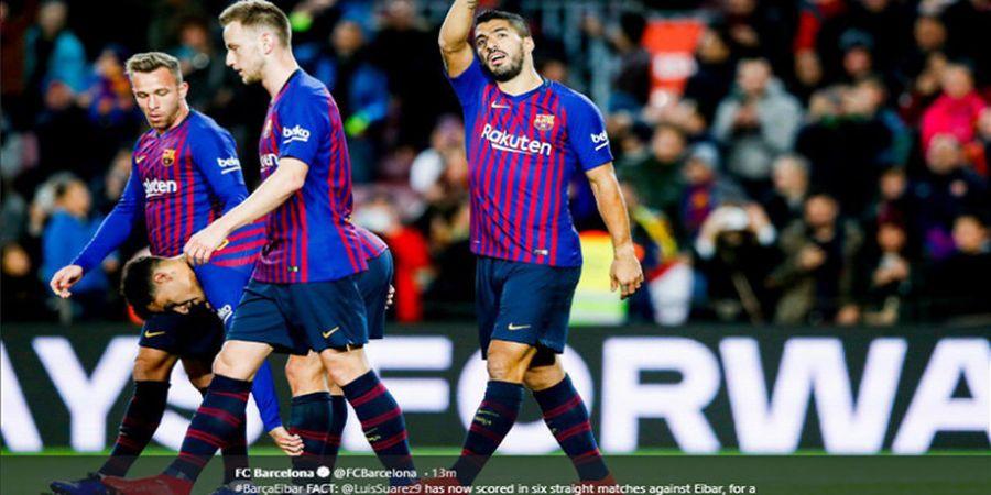 Cari Suksesor Suarez, Barcelona Incar Dua Striker Ganas Premier League