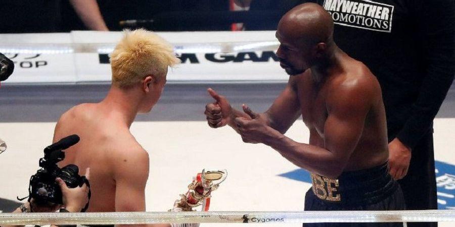 Kalahkan Kickboxer Jepang, Floyd Mayweather Belum Tertarik untuk Berkarier Lagi
