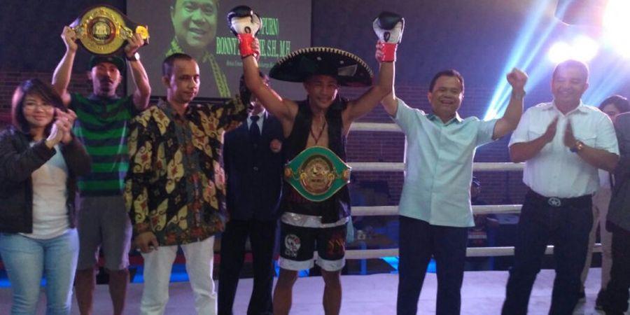 2 Petinju Tanah Air Pertahankan Gelar WBC Asia pada Indonesia Pride