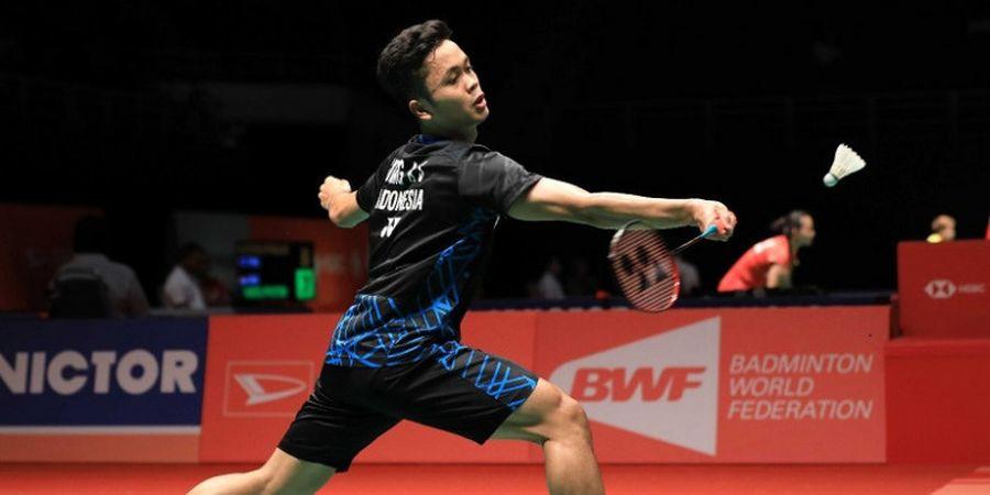 Malaysia Masters 2019 - Anthony Sinisuka Ginting Lolos dan Tantang Chen Long