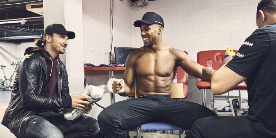 Apa Wejangan Ibrahimovic yang Bikin Anthony Joshua Pertahankan Gelar?