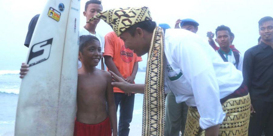 Menpora: Pantai Krui seperti Emas 24 Karat