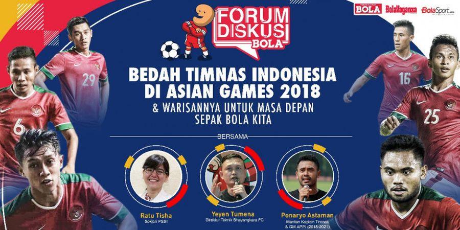 Tabloid BOLA dan BolaSport Gelar Diskusi Timnas Indonesia Jelang Asian Games 2018
