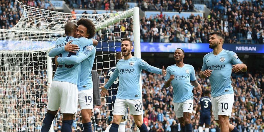 Manchester City di Puncak Daftar Tim dengan Skuat Termahal di 5 Liga Top Eropa