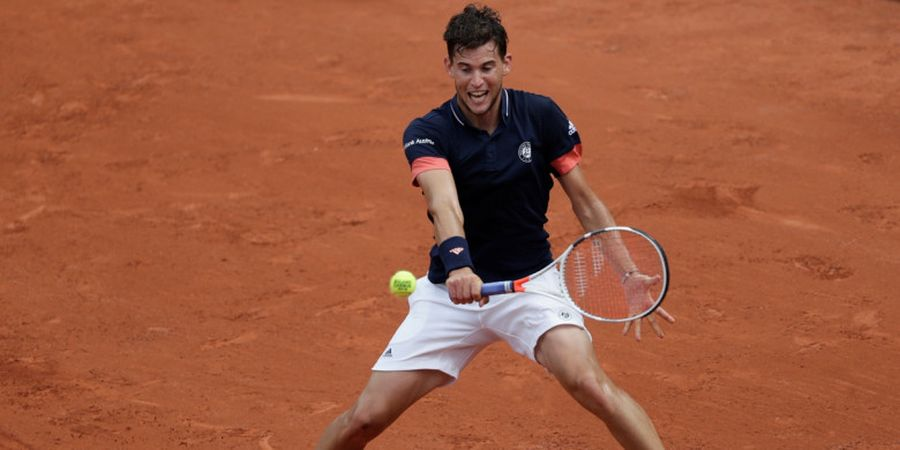 Dominic Thiem Tembus Babak Semifinal Roland Garros 2018
