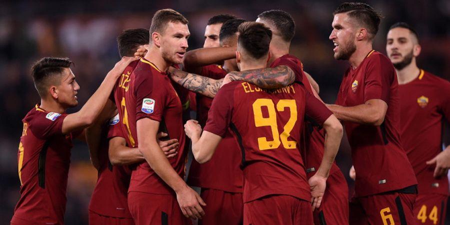 Kalahkan 10 Pemain SPAL, AS Roma Samai Raihan Poin Juventus