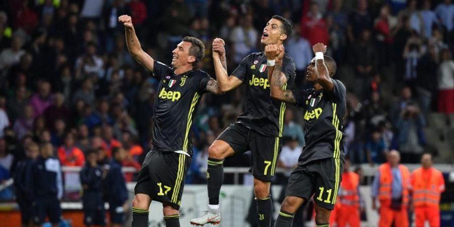 Juventus Periksa Kondisi Cristiano Ronaldo dan Douglas Costa