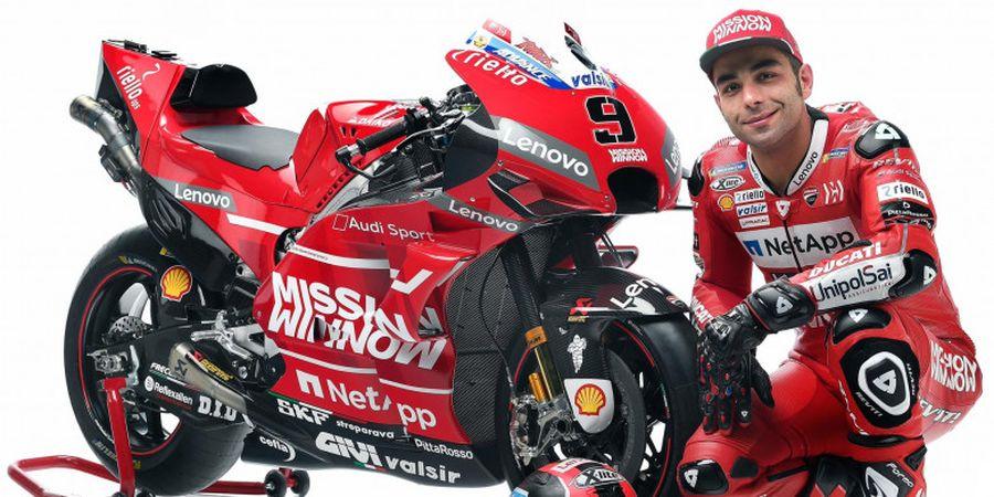 Livery Motor Baru Ducati Buat Danilo Petrucci Terkesima