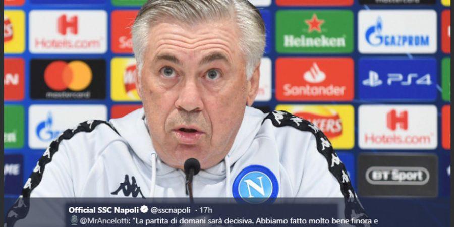 Hentikan Dominasi Juventus di Italia, Pelatih Napoli Diberi Dana Transfer Tak Terbatas?