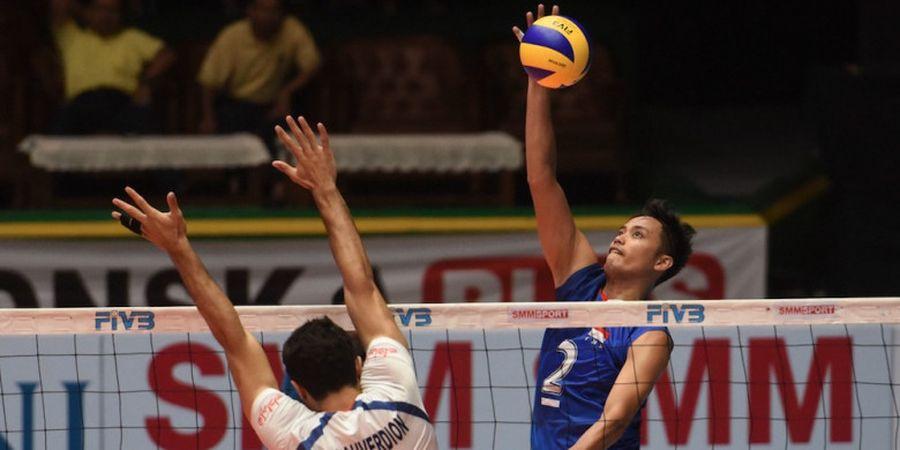 Catatan Perjalanan Rendy Tamamilang dkk hingga ke Semifinal Kejuaraan Bola Voli Asia