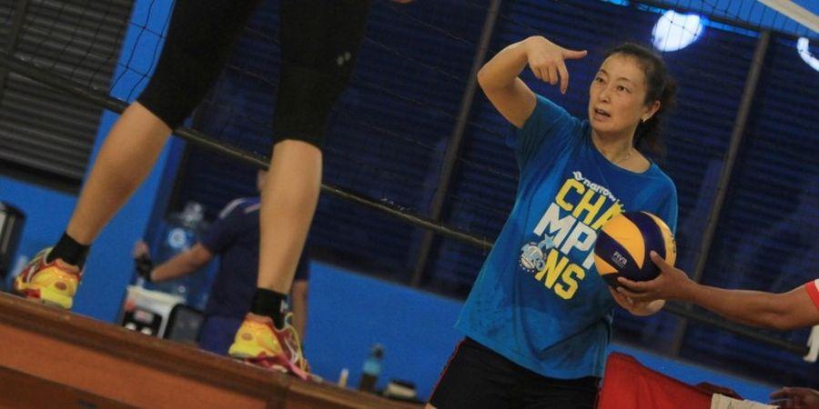 PP PBVSI Pertimbangkan Tian Mei Jadi Pelatih Timnas Bola Voli Putri