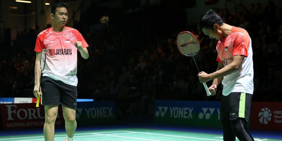 Ahsan/Hendra Turun di Turnamen Level Challenge demi Indonesia Open 2018