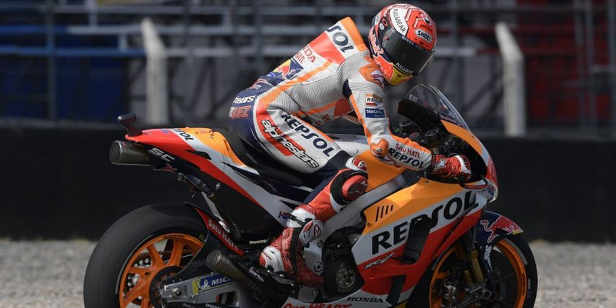MotoGP Argentina 2018 - 3 Aksi Marc Marquez yang Merugikan Pebalap Lain
