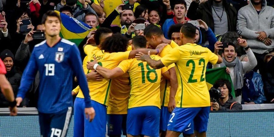 Pemain Brasil Sempat Takut Tidak Lolos ke Piala Dunia 2018