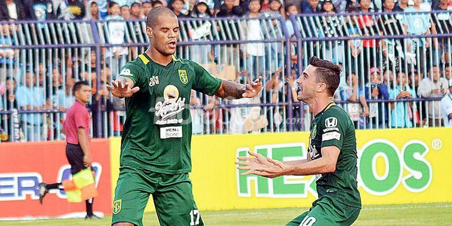 Persebaya Disumbang Hat-trick, David da Silva Langsung Jadi Top Scorer Liga 1 2018