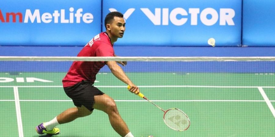 Kalahkan Wakil Malaysia, Tommy Sugiarto Melaju ke Final Thailand Masters 2018
