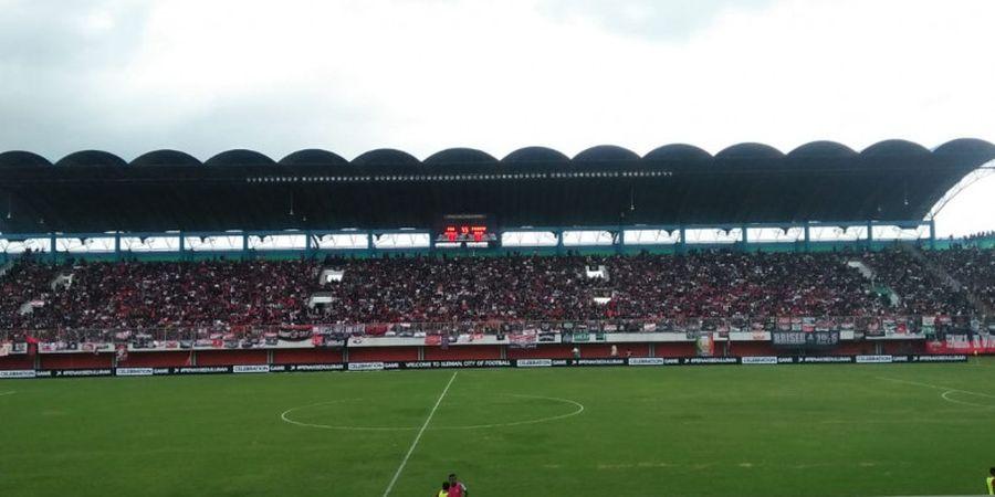 Ritual Persis Jelang Semarkas dengan PSS Sleman di Stadion Maguwoharjo