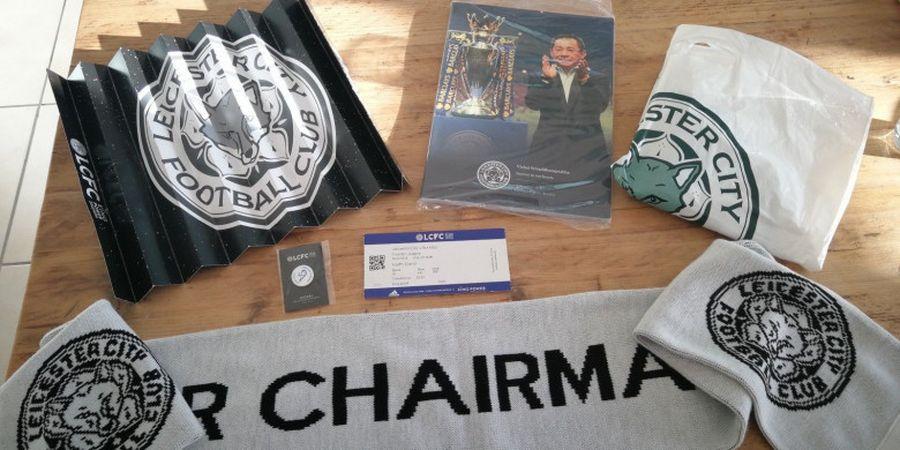 Suporter Leicester City Gemas Memorabilia Eks Presiden Vichai Srivaddhanaprabha Dijual Bebas di eBay
