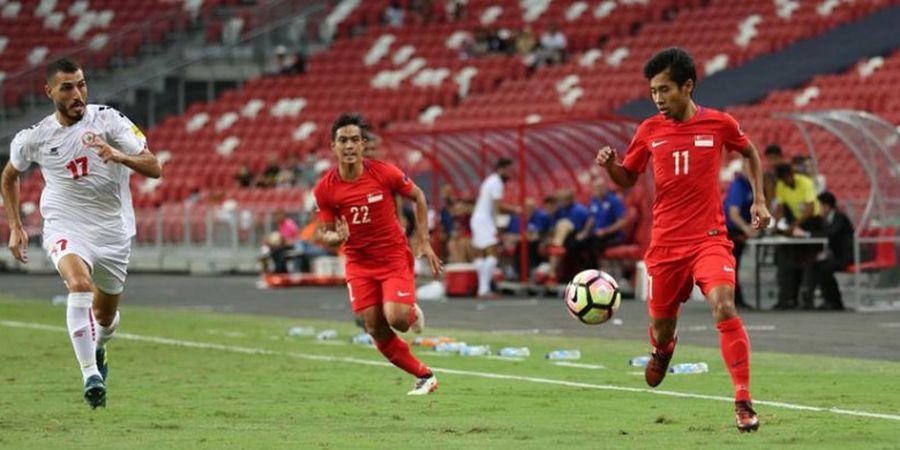 Maksimalkan FIFA Match Day, Timnas Singapura Justru Tumbang di Kandang