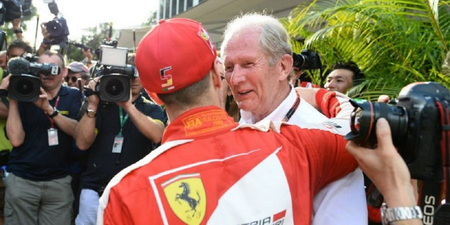 Red Bull Langsung Tutup Pintu untuk Kembalinya Sebastian Vettel