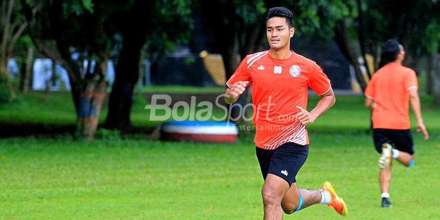 Muhammad Rafli Akui Ada Persaingan Ketat Rebut Tempat Utama di Arema FC