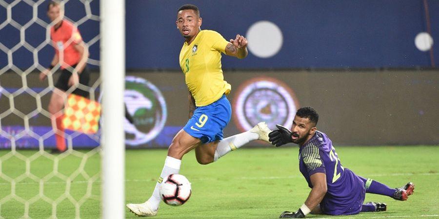 Arab Saudi Vs Brasil - Tim Samba Unggul Tipis pada Babak Pertama