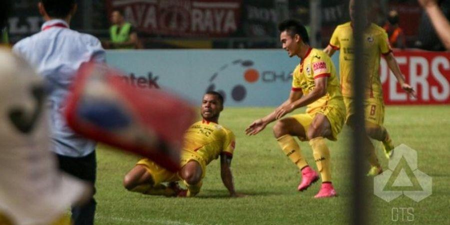 Tendangan Bebas Hilton Menangkan Sriwijaya FC atas Persipura
