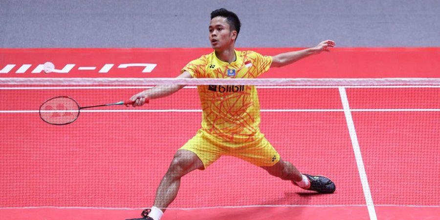 Malaysia Masters 2019 - Tumbangkan Wakil Thailand, Anthony Ginting Melaju ke Babak Kedua