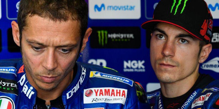 Valentino Rossi Tak Mau Dibanding-bandingkan dengan Maverick Vinales