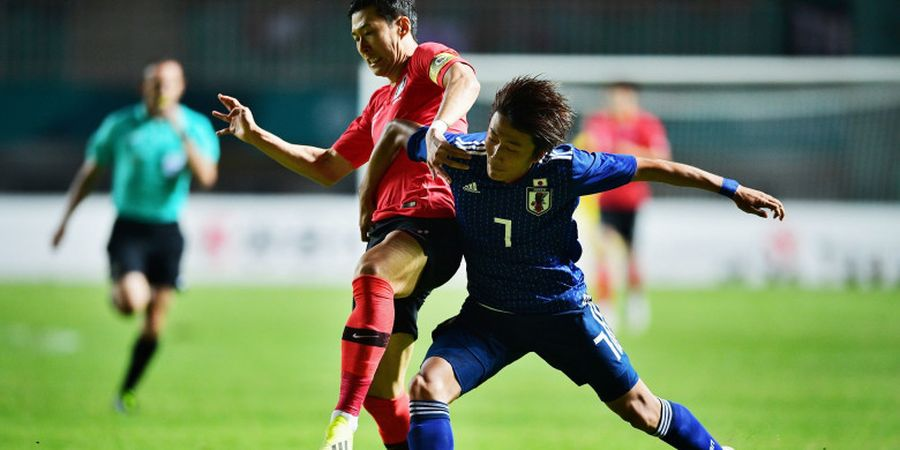 Ada Air Mata Son Heung-min di Final Asian Games 2018