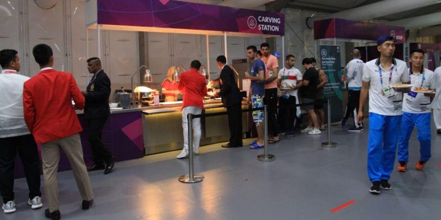 Inilah Biaya Sekali Makan Atlet Asian Games 2018