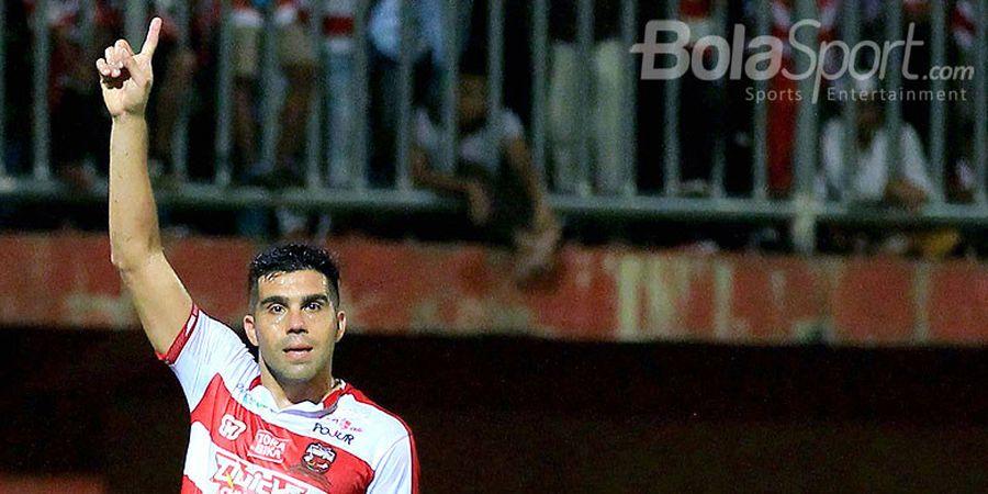 Fabiano Beltrame Resmi Tinggalkan Madura United, ke Persib Bandung?