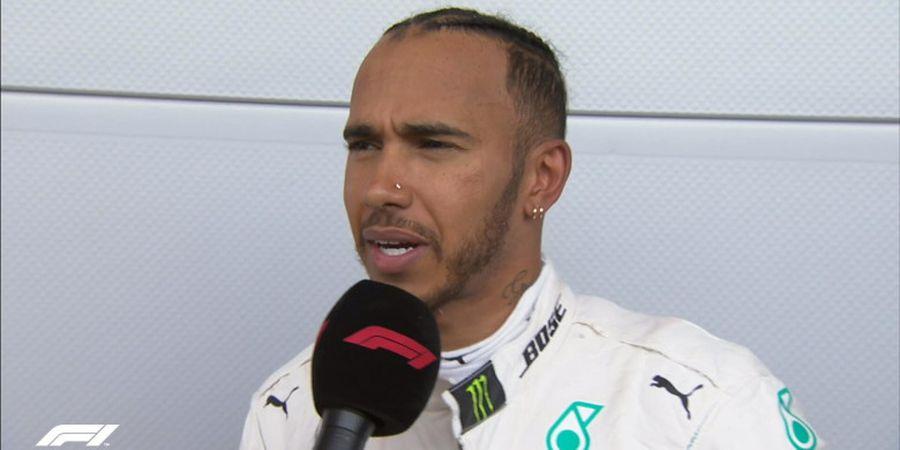 Ini Harapan Lewis Hamilton dengan Rekan Satu Tim Setelah GP Azerbaijan