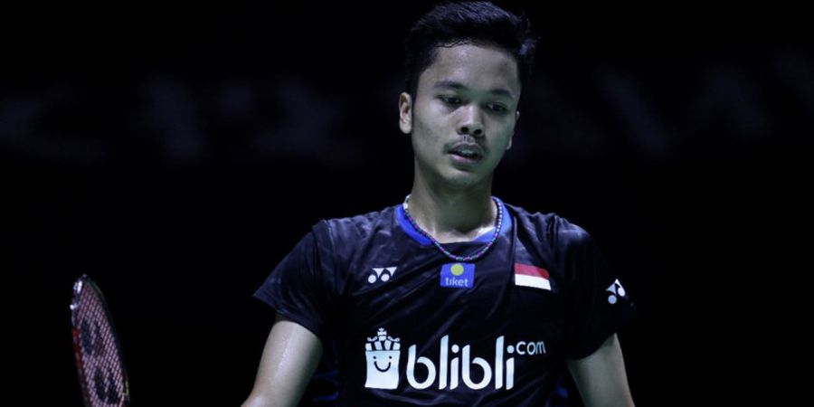 Hasil Drawing Tunggal Putra Indonesia Masters 2019 - Anthony Ginting Hadapi Tommy Sugiarto