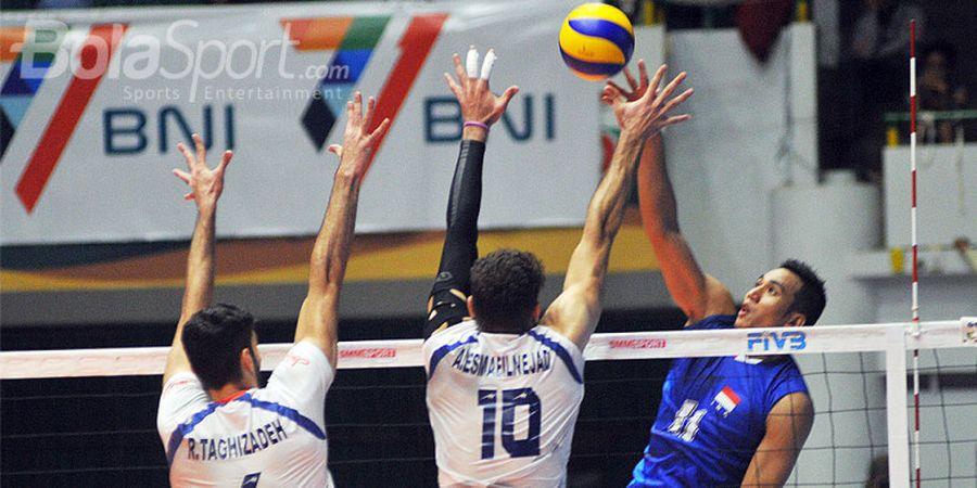 Suasana Kondusif Jadi Kunci Kemenangan Tim Voli Indonesia atas Iran
