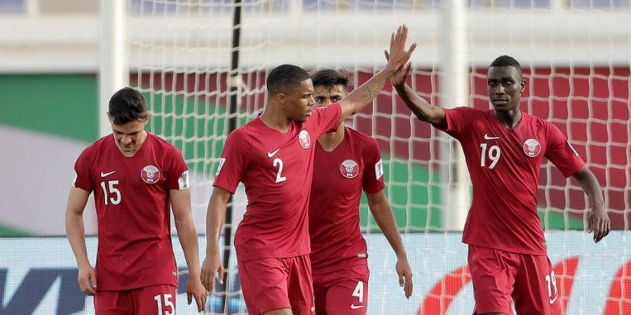 Babak I Final Piala Asia, Gol Salto Awali Keunggulan Qatar atas Jepang