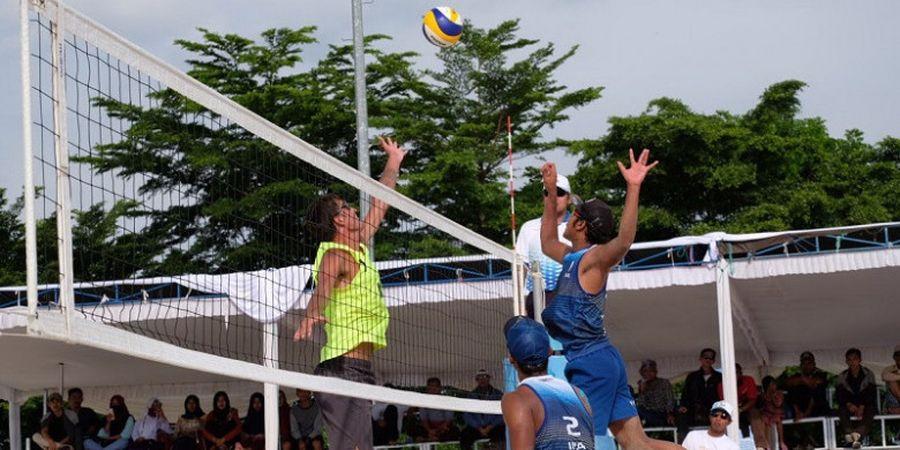Kalahkan Wakil Iran, Candra/Ashfiya Melaju ke Final Kejuaraan Voli Pantai Asia Pasifik di Palembang
