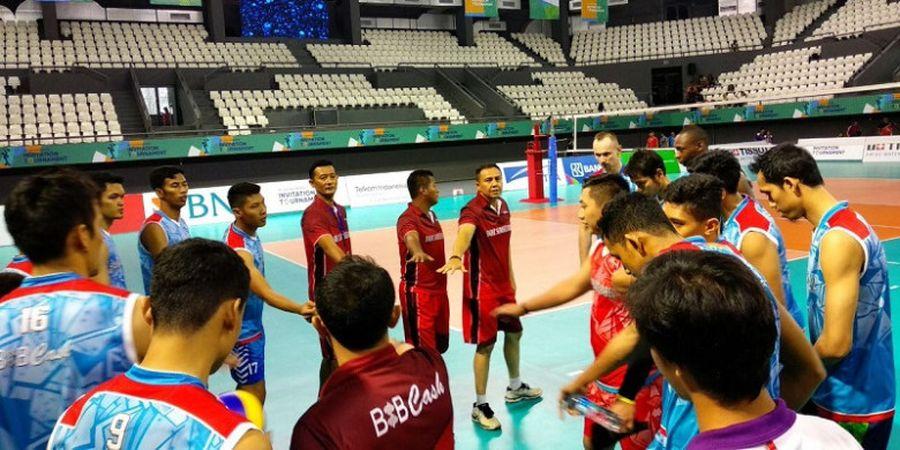 Persiapan Mepet, Timnas Voli Putra Indonesia Bidik Tampil Terbaik pada Test Event Asian Games