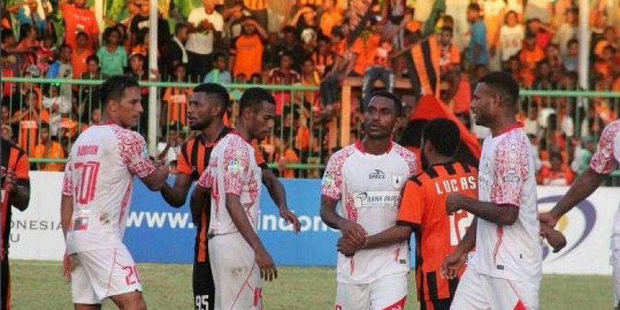 Dua Tim asal Papua Beda Pandangan soal Piala Presiden 2018