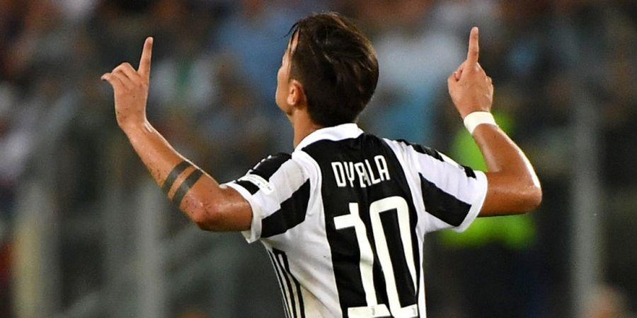 Gol yang Antarkan Paulo Dybala Samai David Trezeguet dan Alessandro Del Piero